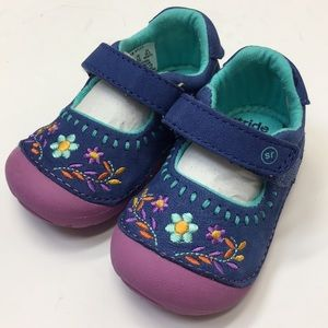 Stride Rite Atley Navy soft motion shoes 4.5 M
